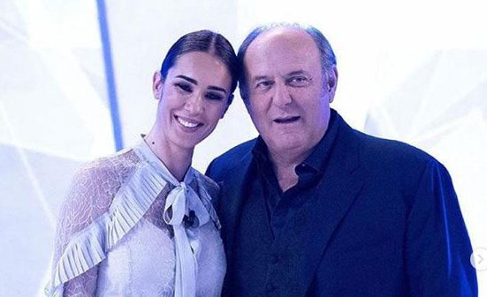 Gerry Scotti e Silvia Toffanin