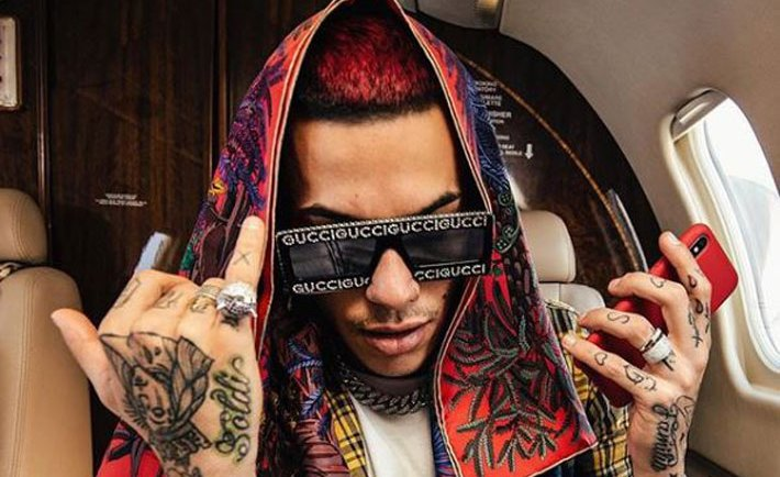 Sfera Ebbasta, The voice of Italy