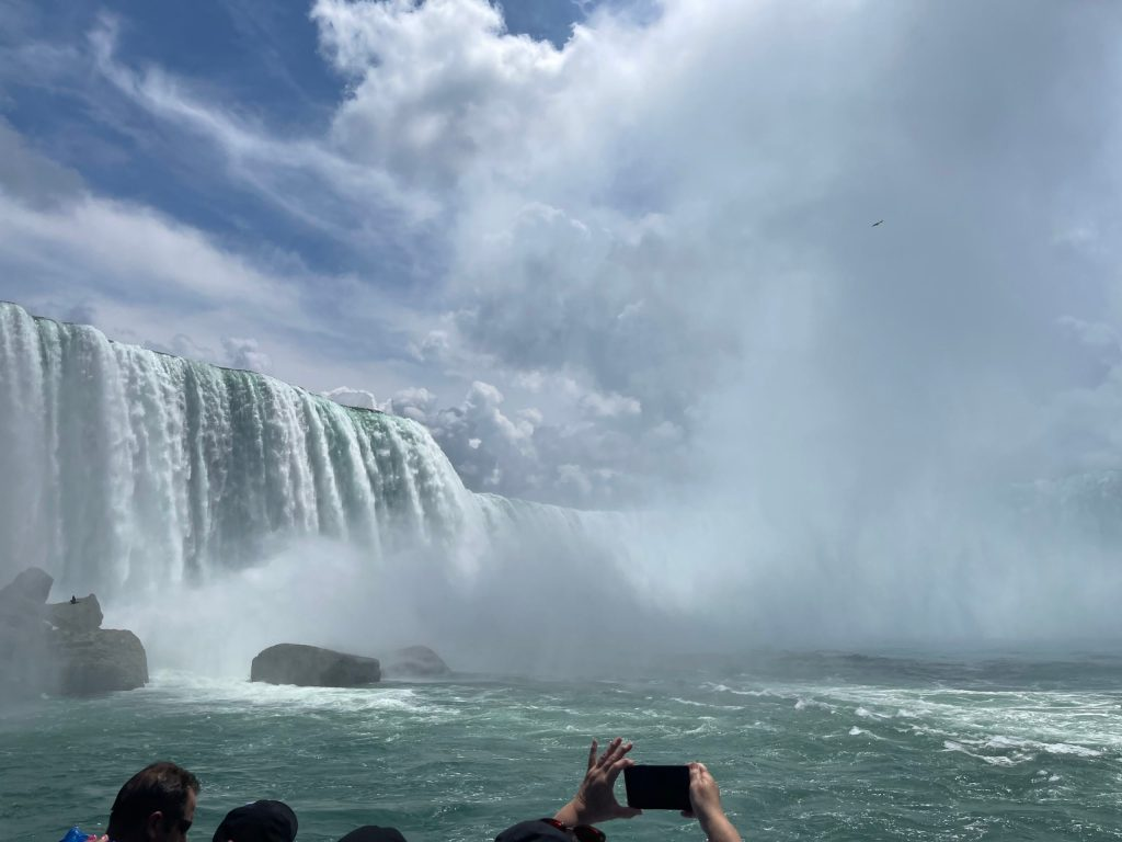 American and Horseshoe Falls from Maid of the Mist