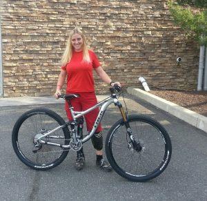 Elinor's new bike