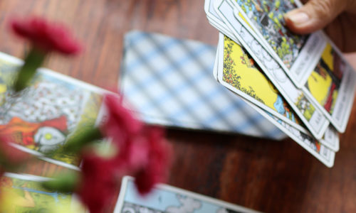 Tarotkaarten - werken aan eigenwaarde