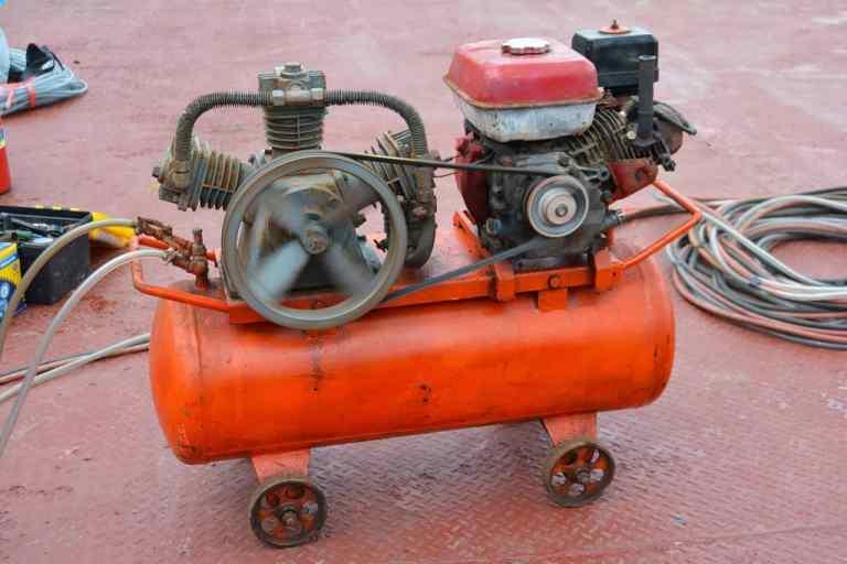 Druckluft-schlagschrauber-kompressor