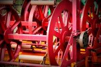Rote Räder