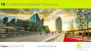 Se acerca la 10ª Conferencia Española Passivhaus