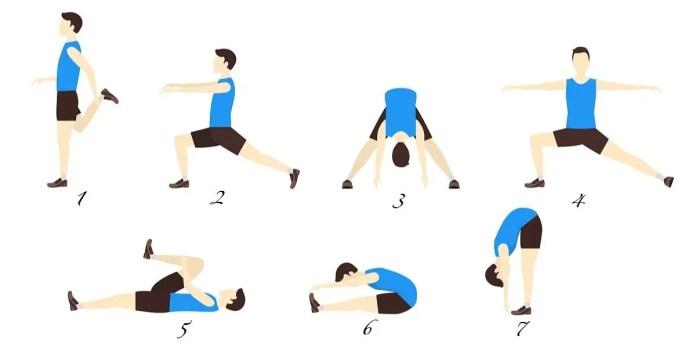 I migliori esercizi di allungamento
