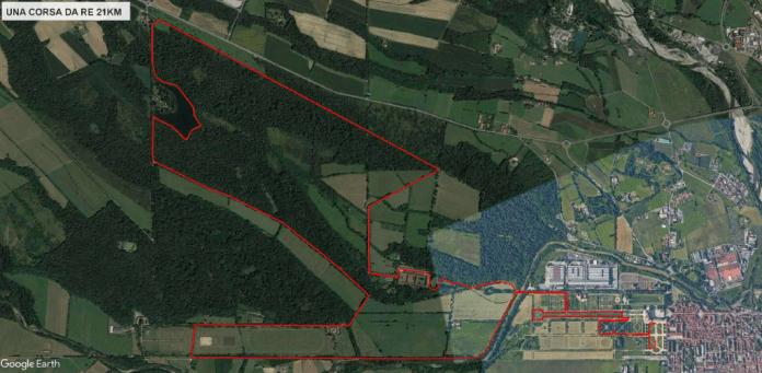 Una Corsa da Re 21km