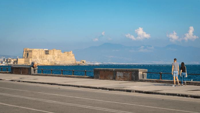 Correre a Napoli Lungomare Caracciolo