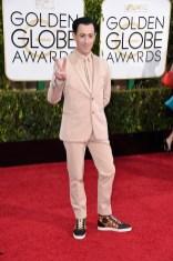 Alan Cumming attends the 72nd annual Golden Globe Awards