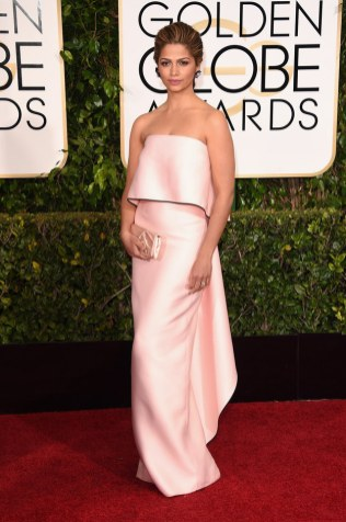 Camila Alves attends the 72nd annual Golden Globe Awards