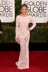 Chrissy Teigen attends the 72nd annual Golden Globe Awards