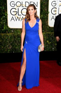 Cindy Crawford attends the 72nd annual Golden Globe Awards