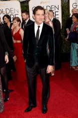 Clive Owen attends the 72nd annual Golden Globe Awards