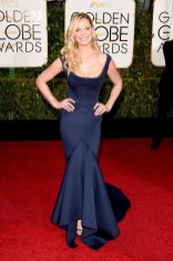 Katherine Heigj attends the 72nd annual Golden Globe Awards