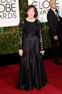 Lilly Tomlin attends the 72nd annual Golden Globe Awards