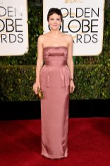 Maggie Gyllenhaal attends the 72nd annual Golden Globe Awards