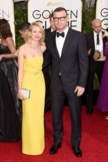 Naomi Watts and Liev schreiberattends the 72nd annual Golden Globe Awards