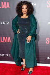 Oprah In December 2014 at the Premier of Selma
