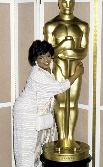 Oprah in March 1986