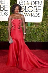 Viola Davis attends the 72nd annual Golden Globe Awards