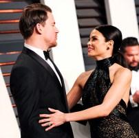Channing Tatum and his wife Jenna Dewan Tatum