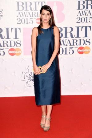 Laura Jackson at the 2015 Brit Awards