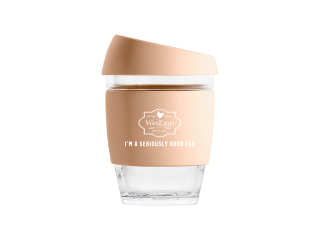 WesEggs Keep Cup - Amberlight