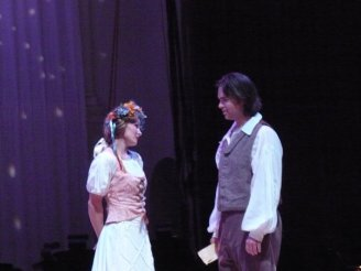As Nemorino in St. Petersburg Opera's L'Elisir d'amore