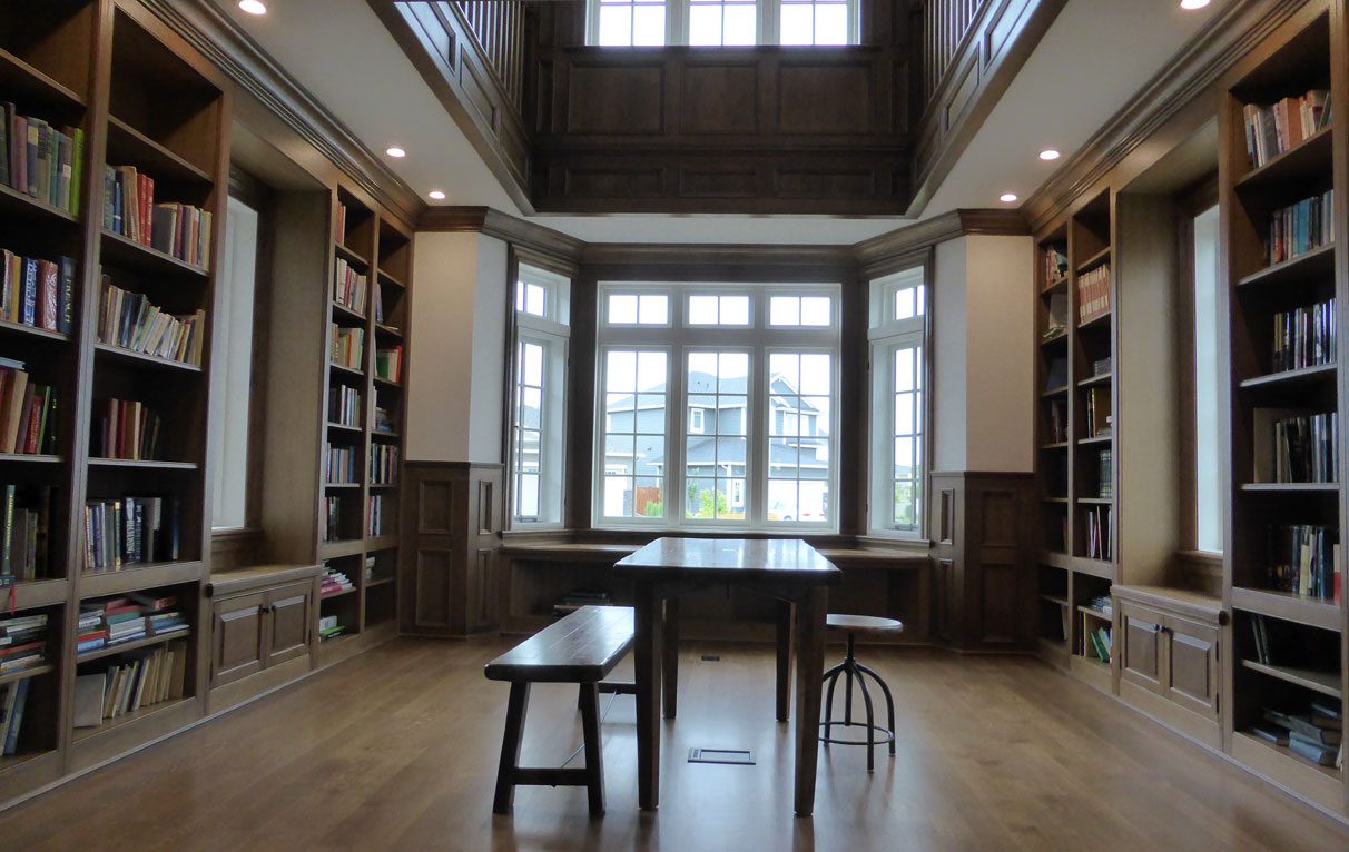 Home Library Custom Home Libraries By Wesley Ellen