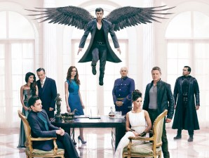 DOMINION Season 1 Promotional Image of the cast. Credit: Gavin Bond/Syfy