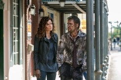 "CONSTANTINE -- ""The Darkness Beneath"" Episode 103 -- Pictured: (l-r) Matt Ryan as John Constantine, Angelica Celaya as Zed -- (Photo by: Tina Rowden/NBC)"
