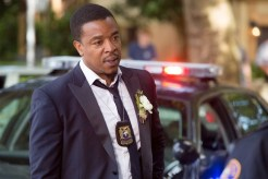 """GRIMM -- """"Thanks for the Memories"""" Episode 401 -- Pictured: Russell Hornsby as Hank Griffin -- (Photo by: Scott Green/NBC)"""
