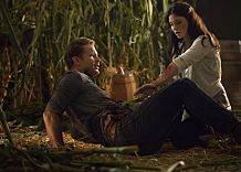 "The Vampire Diaries -- ""The World Has Turned and Left Me Here"" -- Image Number: VD605b_0193.jpg -- Pictured (L-R): Matt Davis as Alaric and Jodi Lyn O'Keefe as Jo -- Photo: Bob Mahoney/The CW -- © 2014 The CW Network, LLC. All rights reserved."