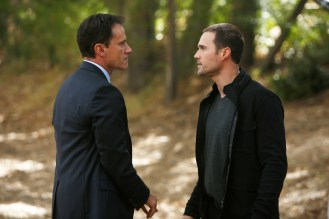 """MARVEL'S AGENTS OF S.H.I.E.L.D. - """"The Things We Bury"""" - Coulson and team find themselves in an epic face-off against Hydra to uncover an ancient secret, while Ward kidnaps his brother, Senator Christian Ward, for a violent trip down memory lane, on """"Marvel's Agents of S.H.I.E.L.D.,"""" TUESDAY, NOVEMBER 18 (9:00-10:00 p.m., ET) on the ABC Television Network. (ABC/Kelsey McNeal) TIM DEKAY, BRETT DALTON"""