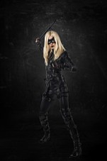 """Arrow -- """"Left Behind"""" -- Image AR310a_BTS_1335 -- Pictured: Katie Cassidy as Black Canary -- Photo: Ed Araquel/The CW -- © 2014 The CW Network, LLC. All Rights Reserved"""
