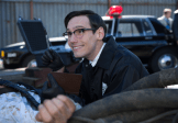 """GOTHAM: Edward Nygma (Cory Michael Smith) finds a piece of evidence in the """"The Mask"""" episode of GOTHAM airing Monday, Nov. 10 (8:00-9:00 PM ET/PT) on FOX. ©2014 Fox Broadcasting Co. Cr: Jessica Miglio/FOX"""