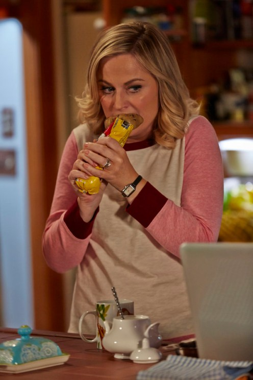 """PARKS AND RECREATION -- """"One In 8,000"""" Episode 620 -- Pictured: Amy Poehler as Leslie Knope -- (Photo by: Ben Cohen/NBC)"""