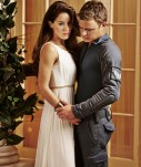 DOMINION -- Season:1 -- Pictured: (l-r) Roxanne McKee as Claire Reisen, Christopher Egan as Alex Lannon -- (Photo by: Gavin Bond/Syfy)