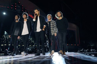 ONE DIRECTION: THE TV SPECIAL -- Pictured: (l-r) Zayn Malik, Louis Tomlinson, Liam Payne, Niall Horan, Harry Styles -- (Photo by: Jeff Daly/NBC)