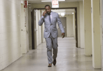 """EMPIRE: Vernon (Malik Yoba) is called to the morgue to confirm a dead body in the """"Outspoken King"""" episode of EMPIRE airing Monday, Jan. 14 (9:00-10:00 PM ET/PT) on FOX. ©2014 Fox Broadcasting Co. CR: Chuck Hodes/FOX"""