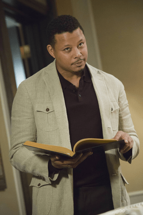 """EMPIRE: Lucious (Terrence Howard) addresses his family in the """"The Devil Quotes Scripture"""" episode airing Wednesday, Jan. 21 (9:00-10:00 PM ET/PT) on FOX. ©2014 Fox Broadcasting Co. CR: Chuck Hodes/FOX"""