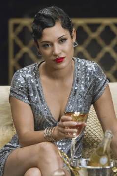 "EMPIRE: Anika (Grace Gealey) watches a performance in the ""The Devil Quotes Scripture"" episode airing Wednesday, Jan. 21 (9:00-10:00 PM ET/PT) on FOX. . ©2014 Fox Broadcasting Co. CR: Chuck Hodes/FOX"