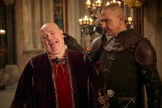 "GALAVANT - ""Two Balls"" (8:00-8:30 p.m., ET) - A visit to Sid's hometown reveals he has not been truthful about his career path. While Galavant and Isabella back up Sid's stories, King Richard decides to throw a ball to cheer up the people of Valencia. The highly-anticipated comedy extravaganza, ""Galavant,"" will air its third and fourth half-hour episodes back to back on SUNDAY, JANUARY 11 (8:00-9:00 p.m., ET) on the ABC Television Network. (ABC/Todd Antony) NICK HOLDER, VINNIE JONES"