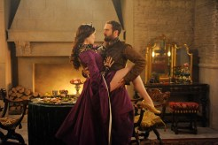 """GALAVANT - """"Dungeons and Dragon Lady"""" - While Galavant struggles with the realization about his true love, King Richard goes on a voyage of self-discovery, thanks to a potion from the magician, Xanax (guest star Ricky Gervais). As Galavant draws closer to the woman he really loves, an emboldened King Richard starts to assert himself, just as his meaner, elder brother returns-Kingsley (Rutger Hauer) on """"Galavant,"""" airing SUNDAY, JANUARY 18 (8:30-9:00 p.m., ET) on the ABC Television Network. (ABC/Daniel Liam) MALLORY JANSEN, JOSHUA SASSE"""