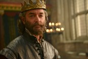 """GALAVANT - """"Dungeons and Dragon Lady"""" - While Galavant struggles with the realization about his true love, King Richard goes on a voyage of self-discovery, thanks to a potion from the magician, Xanax (guest star Ricky Gervais). As Galavant draws closer to the woman he really loves, an emboldened King Richard starts to assert himself, just as his meaner, elder brother returns-Kingsley (Rutger Hauer) on """"Galavant,"""" airing SUNDAY, JANUARY 18 (8:30-9:00 p.m., ET) on the ABC Television Network. (ABC/Daniel Liam) TIMOTHY OMUNDSON"""