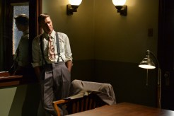 """MARVEL'S AGENT CARTER - """"Time & Tide"""" - As Agent Carter closes in on Howard Stark's stolen technology, Peggy's secret mission could unravel when the SSR arrests Jarvis and a secret is revealed, on """"Marvel's Agent Carter,"""" TUESDAY, JANUARY 13 (9:00-10:00 p.m., ET) on the ABC Television Network. (ABC/Eric McCandless) CHAD MICHAEL MURRAY"""