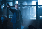"GOTHAM: Detective James Gordon (Ben McKenzie) confronts an intruder in the ""What The Little Bird Told Him"" episode of GOTHAM airing Monday, Jan. 19 (8:00-9:00 PM ET/PT) on FOX. ©2014 Fox Broadcasting Co. Cr: Jessica Miglio/FOX"