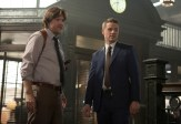 """GOTHAM: Detectives James Gordon (Ben McKenzie, R) and Harvey Bullock (Donal Logue, L) address corruption within the GCPD in the """"Welcome Back, Jim Gordon"""" episode of GOTHAM airing Monday, Jan. 26 (8:00-9:00 PM ET/PT) on FOX. ©2015 Fox Broadcasting Co. Cr: Jessica Miglio/FOX"""