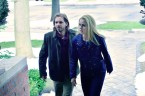 """12 MONKEYS -- """"Mentally Divergent"""" Episode 102 -- Pictured: (l-r) Aaron Stanford as Cole, Amanda Schull as Railly -- (Photo by: Ben Mark Holzberg/Syfy)"""