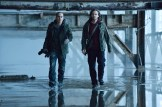 "12 MONKEYS -- ""Mentally Divergent"" Episode 102 -- Pictured: (l-r) Kirk Acevedo as Ramse, Aaron Stanford as Cole -- (Photo by: Ben Mark Holzberg/Syfy)"