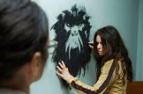 "12 MONKEYS -- ""Mentally Divergent"" Episode 102 -- Pictured: Emily Hampshire as Jennifer -- (Photo by: Ken Woroner/Syfy)"